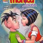 Turma da Mônica Jovem e o primeiro beijo de Mônica e Cebolinha