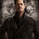 Brad Pitt no pôster de Bastardos Inglórios