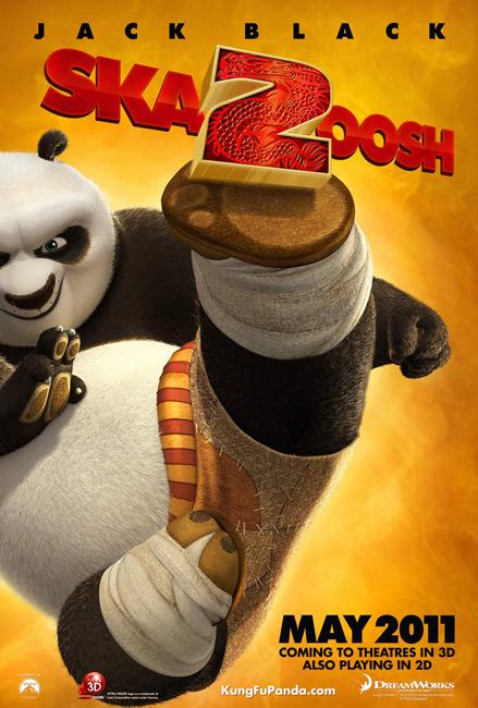 kung fu panda 2 poster Baixar Kung Fu Panda 2 – DvdRip AVI Dublado