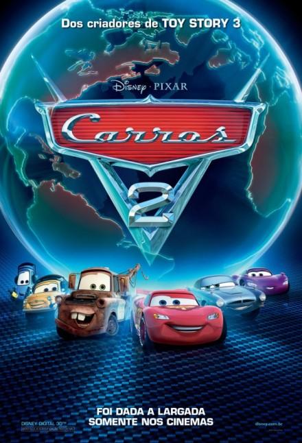 Lançamentos em 22 de julho de 2011 - Inauguração dos cinemas de Caruaru Carros-2-poster-nacional