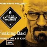Pôster da quarta temporada de Breaking Bad