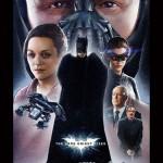 Artistas faz pôsteres clássicos da nova trilogia do Batman