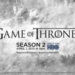 Segunda temporada de Game of Thrones ganha mais um teaser trailer