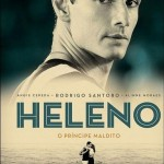 Veja o primeiro pôster de Heleno – O Príncipe Maldito, filme que narra a vida de Heleno de Freitas