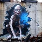 A arte com grafite de SmugOne