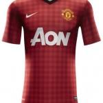 As novas camisas do Manchester United modelo 2012/2013 – preço e foto