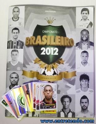album de figurinhas do campeonato brasileiro 2012