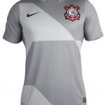 As novas terceiras camisas de Corinthians e Palmeiras