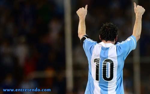 Vídeo: todos os gols de Lionel Messi pela seleção argentina