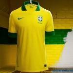 Preço e fotos das novas camisas amarela e azul do Brasil modelo 2013