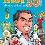 Livro é feito em homenagem aos 50 anos das criações de Mauricio de Sousa