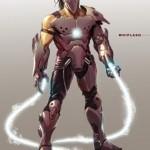 Homem de Ferro 2: armadura final do Chicote Negro tem imagem divulgada