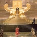 Thor, o filme: nova imagem mostra o protagonista, Odin e Loki em Asgard