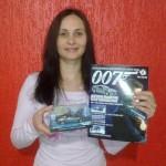 Os ganhadores da promoção das miniaturas dos carros do James Bond