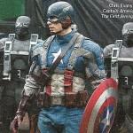 """""""Capitão América: O Primeiro Vingador"""": veja Chris Evans com o uniforme do herói"""