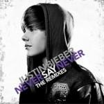 """Justin Bieber lança novo CD, """"Never Say Never – The Remixes"""", esta semana. Veja a capa e lista de músicas"""