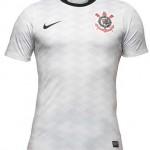 As novas camisas do Corinthians para 2012