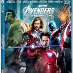 As capas do Blu-ray e do DVD de Os Vingadores