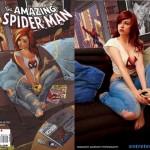 """As fotos de Stacey Rebecca e seu """"cosplay"""" de Mary Jane"""