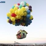 Conheça Jonathan Trappe e sua casa com balões